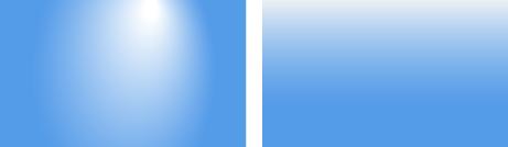 Два типа градиентных фонов для Nature Aquarium